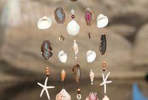 Treibholz mit Perlen