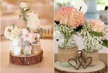 Decorações de casamento rústicas