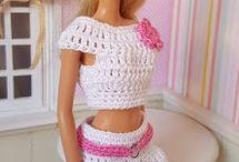 crochet vêtements Barbie