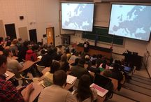 Events at the Nunn School / The Sam Nunn School regularly hosts speakers from around the world to talk about foreign policy, world events, and global trends.