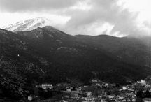 Our village looks good even in black and white! / Our village looks good even in black and white!
