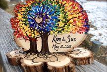 árbol en madera