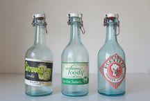 Vanhoja pulloja