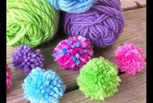 Pom pom - Yarn Crafts