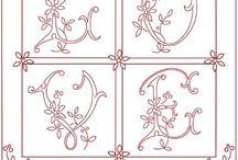 Embrodery / Stitch pattern