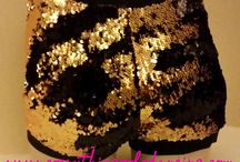 FLIPPIN' AWESOME SEQUIN SHORTS!
