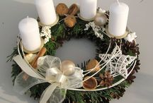x-mas wreath mix  add idea