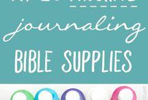 Bible Journaling / Bible journaling inspiration, printables, ideas and more!