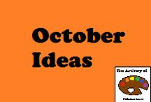 School Ideas: October / a place to pin October teaching ideas