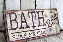 Bathroom Decor / by Brandy Jones