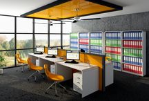Office Furniture / Quality high gloss furniture.