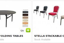 Round Folding Tables / Are you looking for table that can be use in Reception centres, conference rooms, dining rooms and others? Australian Slimline Trestles is the right choice for Round Folding Tables where you get strong and versatile table at very reasonable charges. http://www.trestle.com.au