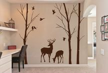 Wall stickers lounge