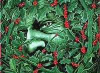 The legend of the holly king