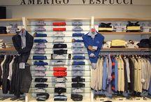 UOMO: Collezione Primavera/Estate / Negozio d'abbigliamento per uomo e donna. Articoli firmati Amerigo Vespucci e non solo.