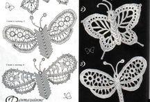 irish crochet insects