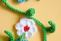Virkattuja kukkia