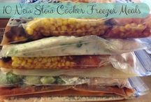 Freezer meals / Freezer meals to stuff in the crock pot / by Amy Blanchard