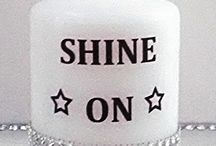 """SHINE ON! / Items inspired by Marty Casey's potent lyric from the song, """"Shine On"""""""