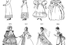 1800s women's fashion