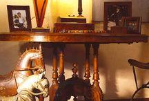 Τραπέζια / Ξυλόγλυπτα τραπέζια φιλοτεχνημένα από τον Γιώργο Παττέ | www.pattes.gr