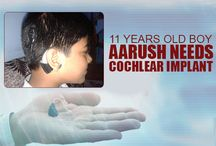 HELP AARUSH FOR COCHLEAR IMPLANT / Aarush‬ has undergone a surgery of ‪Cochlear Implant‬ 4 yrs back. A cochlear implant is a surgically implanted electronic device that provides a sense of hearing to a person who is profoundly ‪deaf‬. Now, the external processor is malfunctioning and it needs to be replaced. ‪Support‬ Aarush on www.DreamWallets.com by helping him raising the money required for replacing the external processor so that he can lead a normal life again and go back to ‪school‬ to continue his studies.