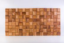 wood mosaic