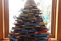 Holiday Book Trees