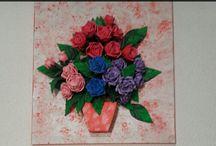 flores em E.V.A