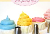 Cake decorating tips and recipes
