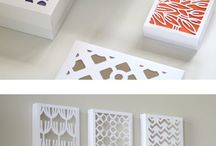 Paper art wall decor