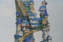Dibujos de casas originales
