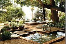 Ogród/ Le jardin/ Garden