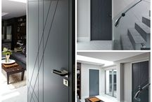 Our internal feature doors / Some of our feature Internal doors. Available in RAL colours as well as our premium hardwoods.