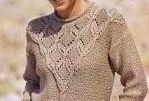 model pulover