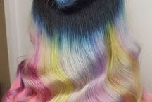 Vivids and pastels