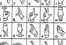 abecedarul surdo-mut