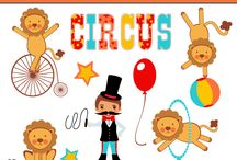 Art & Doodles - Animals - Circus / by Heather R