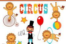 Art & Doodles - Animals - Circus