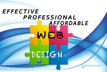Professional Web Design / SimplerWebs is a U.S. professional web design company with a focus of providing big business professional website design services, for a small business price!
