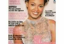 Capas de revista / Capas de revistas com mulheres negras na capa