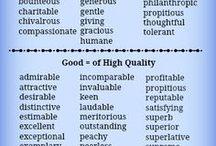 English - Vocabulary