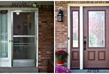 ProVia BEFORE and AFTERS / by Thomas V. Giel Garage Doors