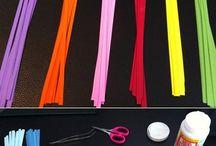 príprava na fareb.papieriky