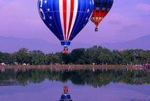 Hot Air Balloons / by Julia Granger Bethea