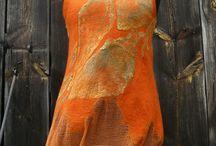 Plstěné šaty a tuniky