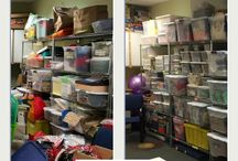 Keep Austin Organized / Before and After photos or our group organizing non-profits