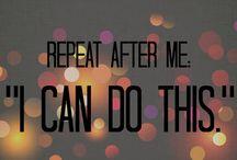 By faith, I will run a marathon! / Running goals