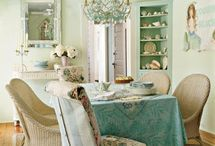 Shabby Chic Decoration Colors, Furniture, Accessories