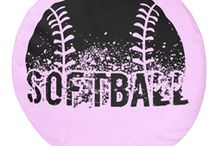 Softball Items / Softball themed designs, apparel, home decor items & electronic accessories for athletes, coaches and fans. #softball #gifts